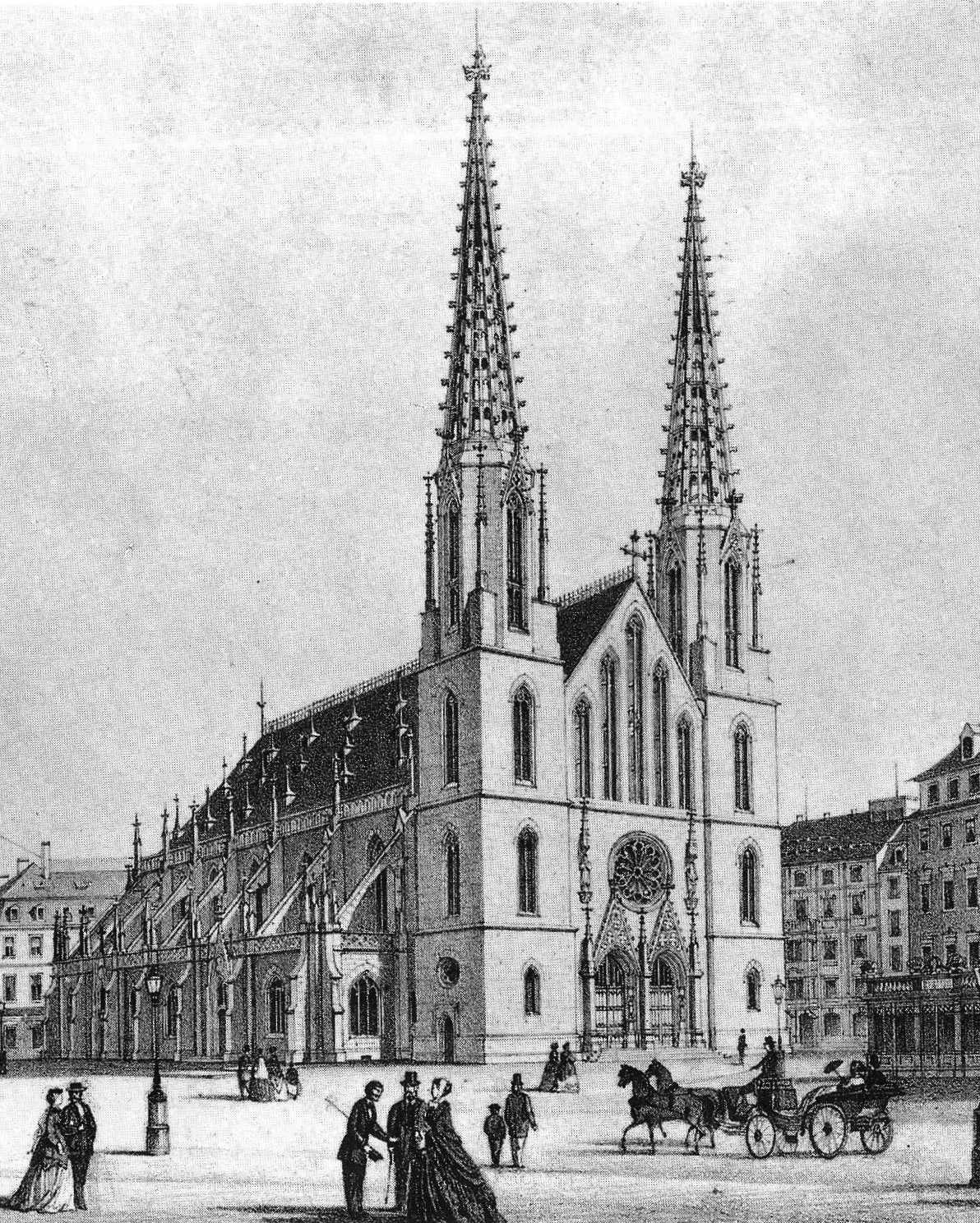 Dresden's Sophienkirche.