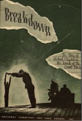 The cover of the pamphlet  Breakdown .
