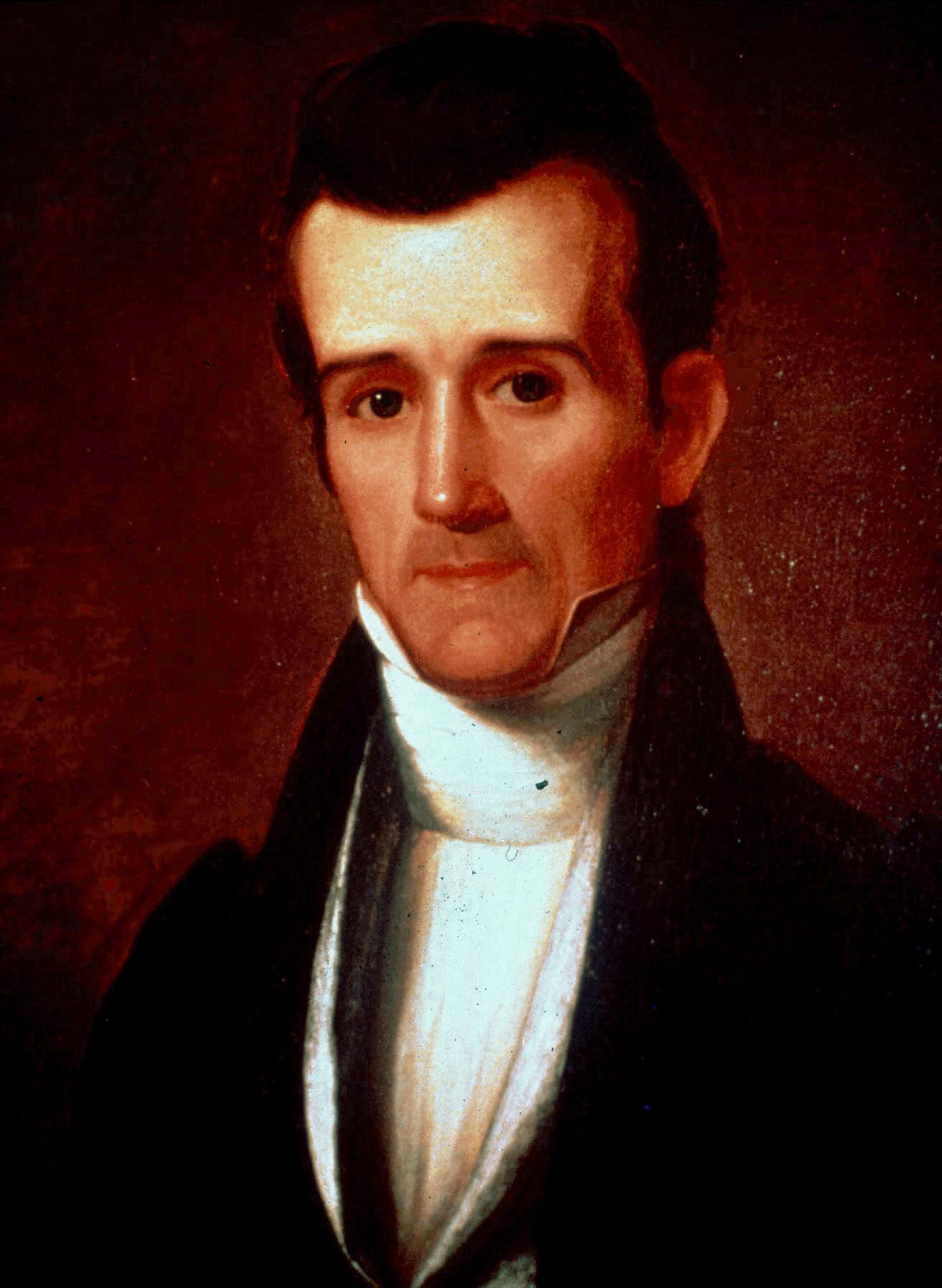 A portrait of James K. Polk.