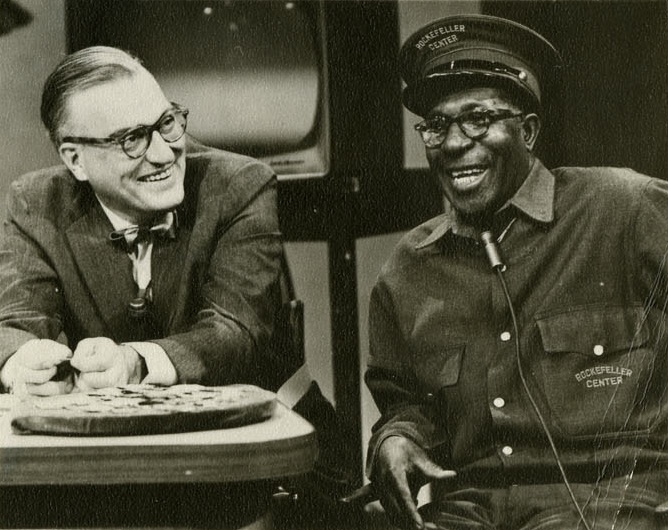 Eugene Bullard being interviewed on the Today Show in December 1959.