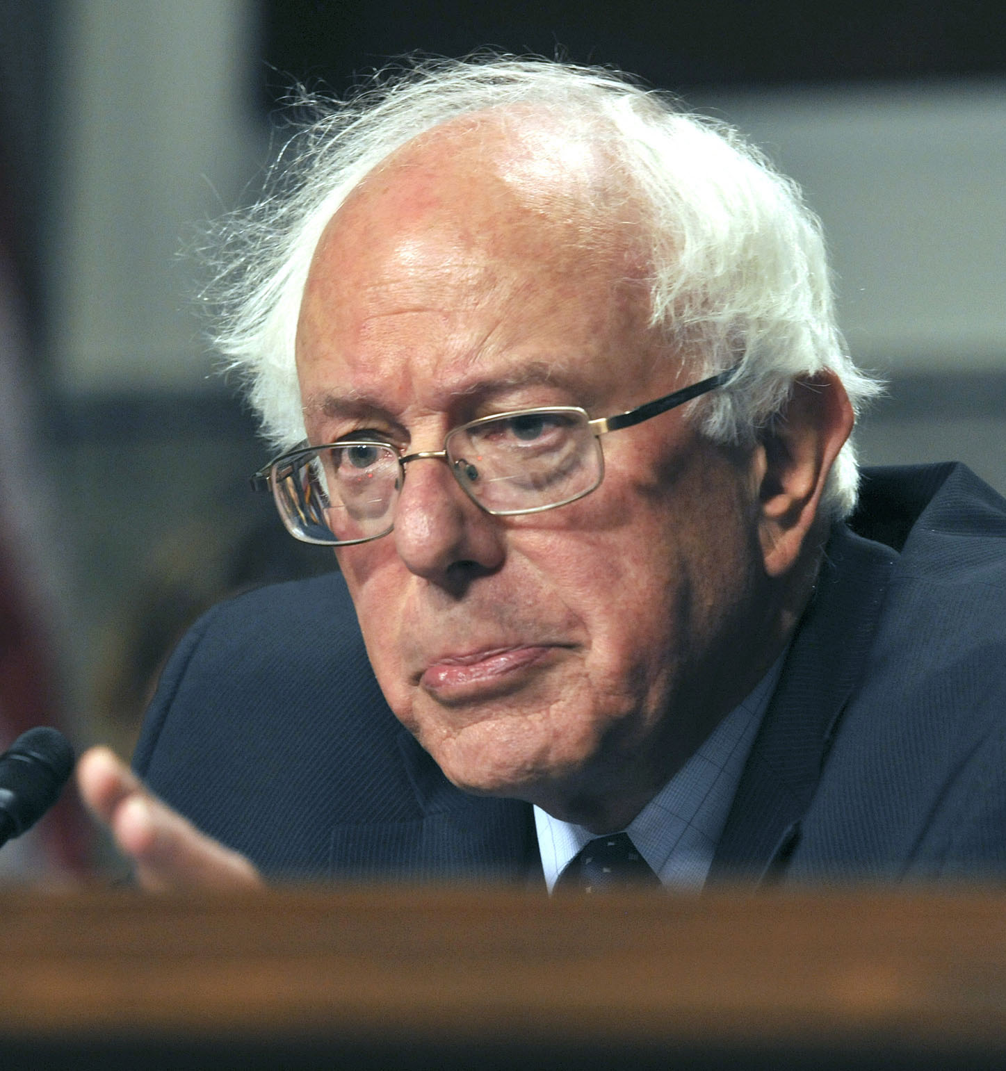 Bernie Sanders, a self-styled progressive and contender for the Democratic presidential nomination in 2016. Pictured here in 2014.