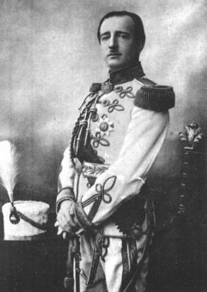 King Zog I of Albania.