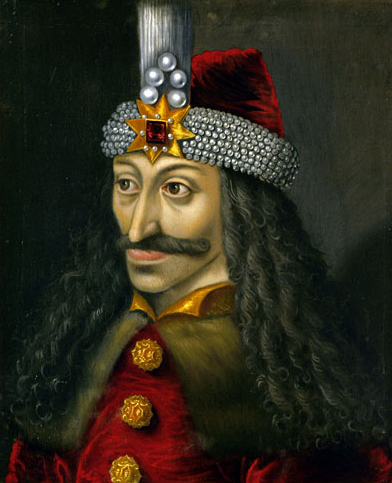 A sixteenth century painting of Vlad the Impaler.