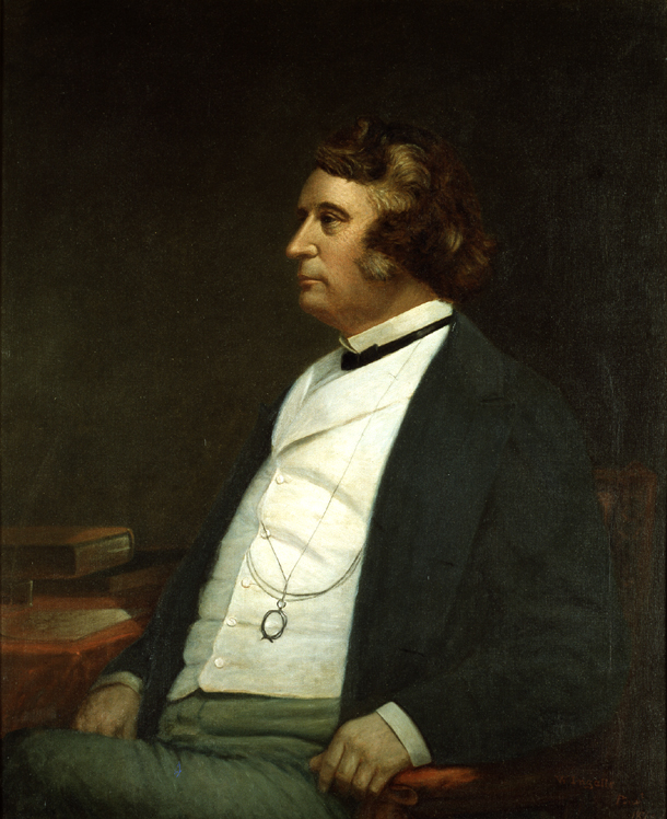 An 1873 portrait of Charles Sumner.