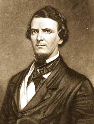 Preston Brooks, circa 1857.