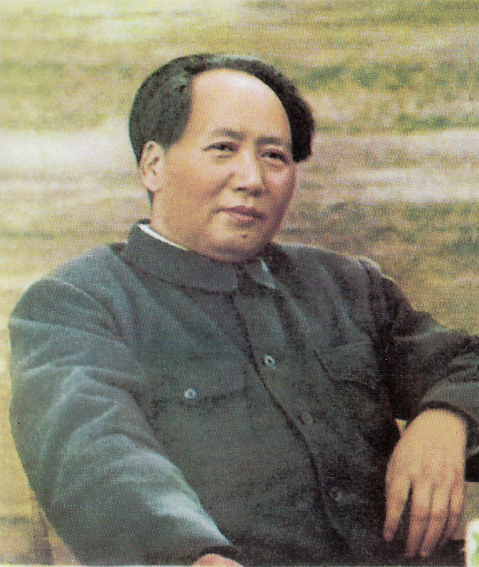 Chinese leader Chairman Mao Zedong.