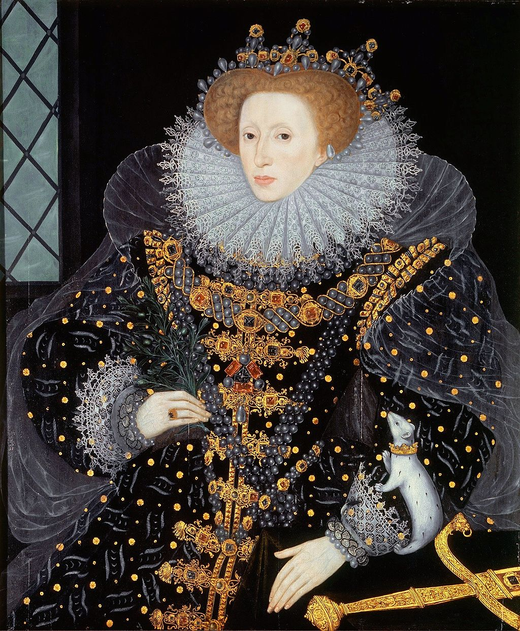 The  Ermine Portrait  of Elizabeth I of England.