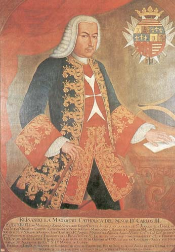 Pedro Messia de la Cerda, Viceroy of New Granada from 1761 to 1773.