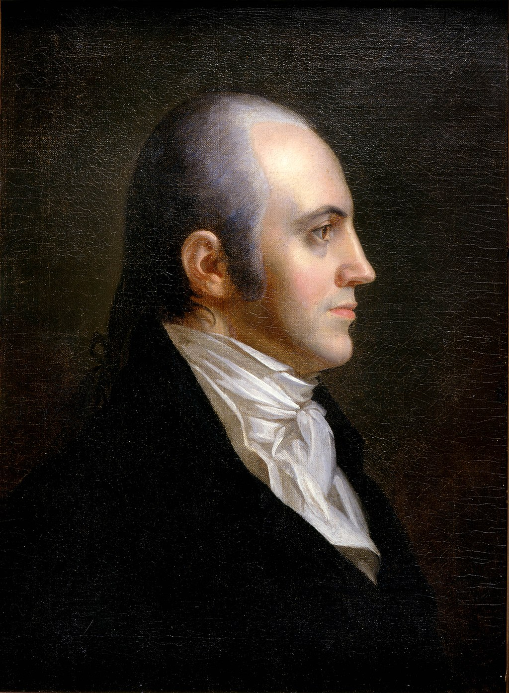 An early 19th century painting of Aaron Burr.