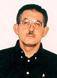 Aldrich Ames on the day of his arrest.