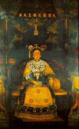 Empress Dowager Cixi  by Katharine Carl. 1904.