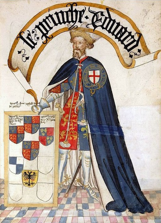 Edward, the Black Prince. Edward was the first Duke of Cornwall in the 14th century.