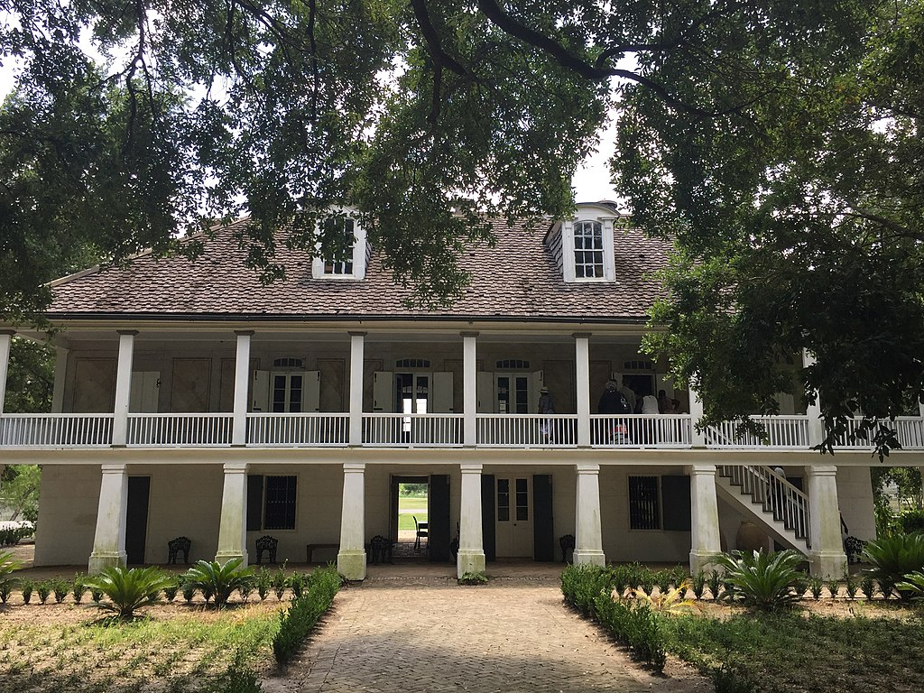 The Big House at the Whitney Plantation. Source: Bill Leiser, available  here .