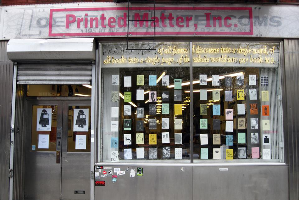 Printed Matter, NY, photo by Untappedcities