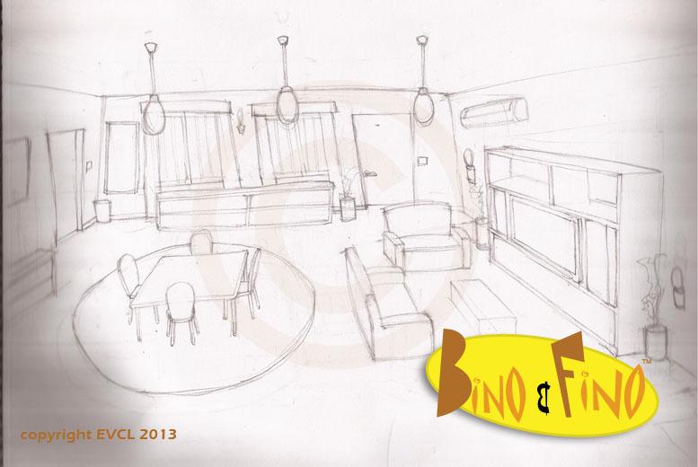 Bino and Fino Living Room
