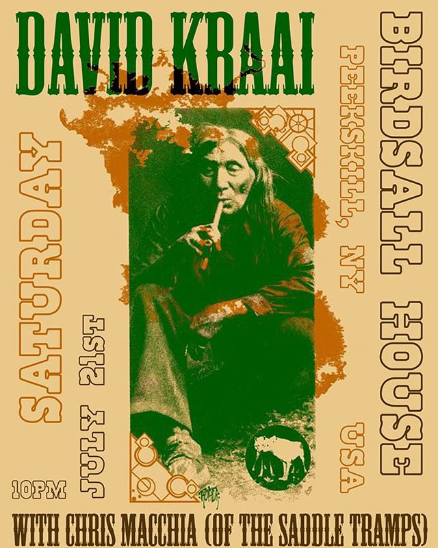 Live music Saturday 7/21 at 10pm with David Kraai and Chris Macchia #drinklocal #livemusic #peekskill #latenight