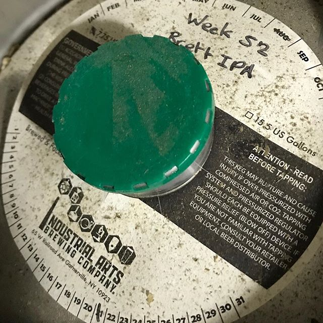 Tomorrow. @industrialartsbrewing #vintagebeer #anniversary #beer