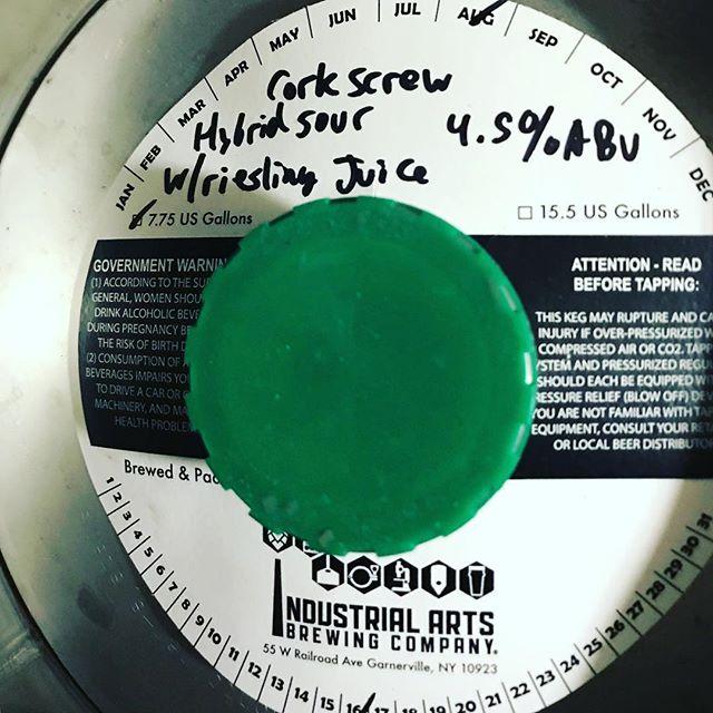 Tomorrow. @industrialartsbrewing #sourbeer #craftbeer #beerporn