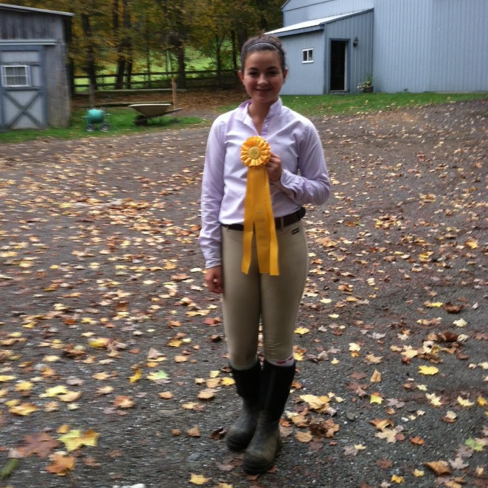 Gabby got 3rd Place!