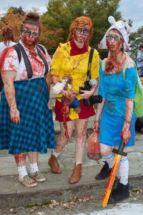 Zombie Gal Trio