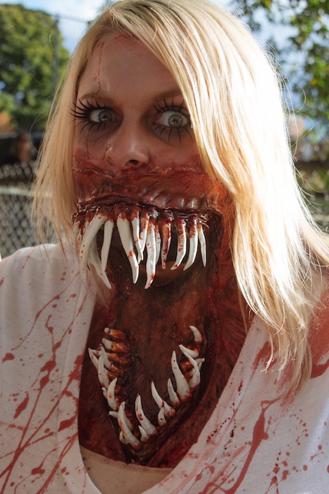 Gaping Mouth Wound