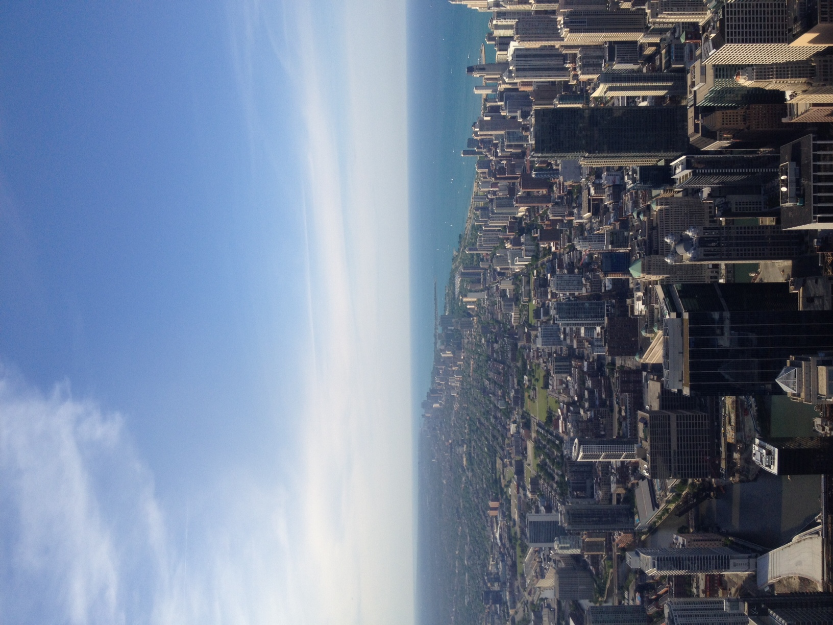 View from Willis Tower, (formerly Sears Tower)