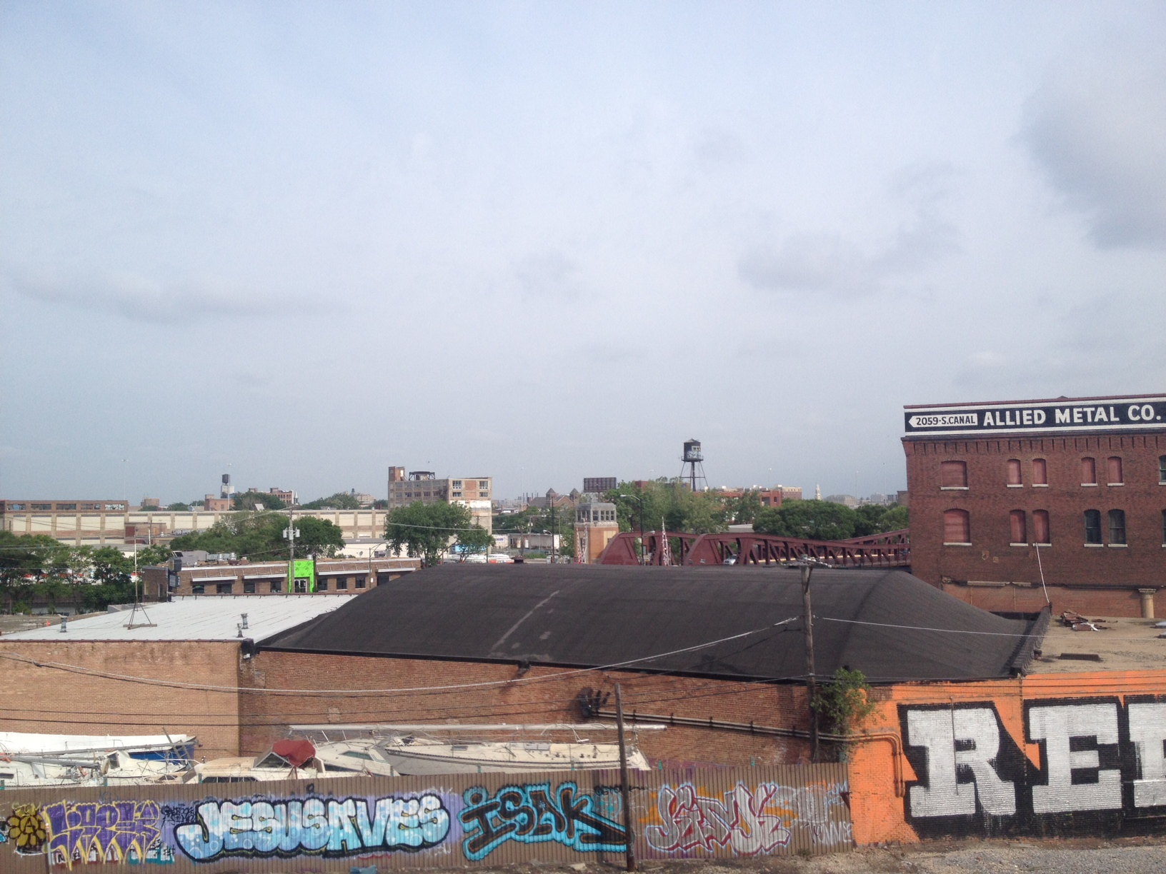 View from the Orange Line