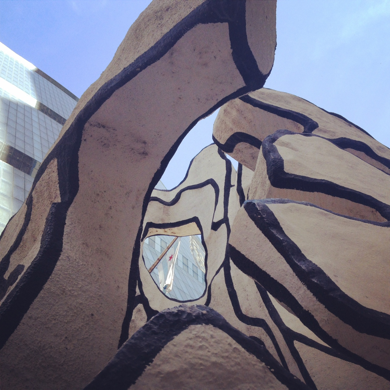 Jean Dubuffet's Monument with Standing Beast