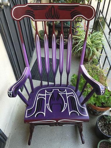 Rocking Chair Created by Sean Barton