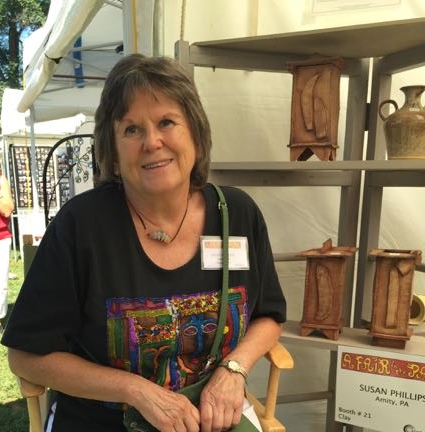 Susan Phillips of Stone House Pottery