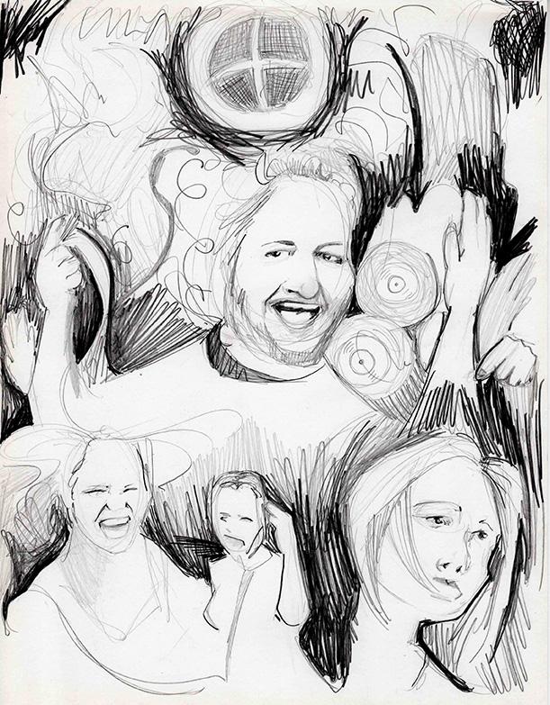 Graphite on paper, 2015