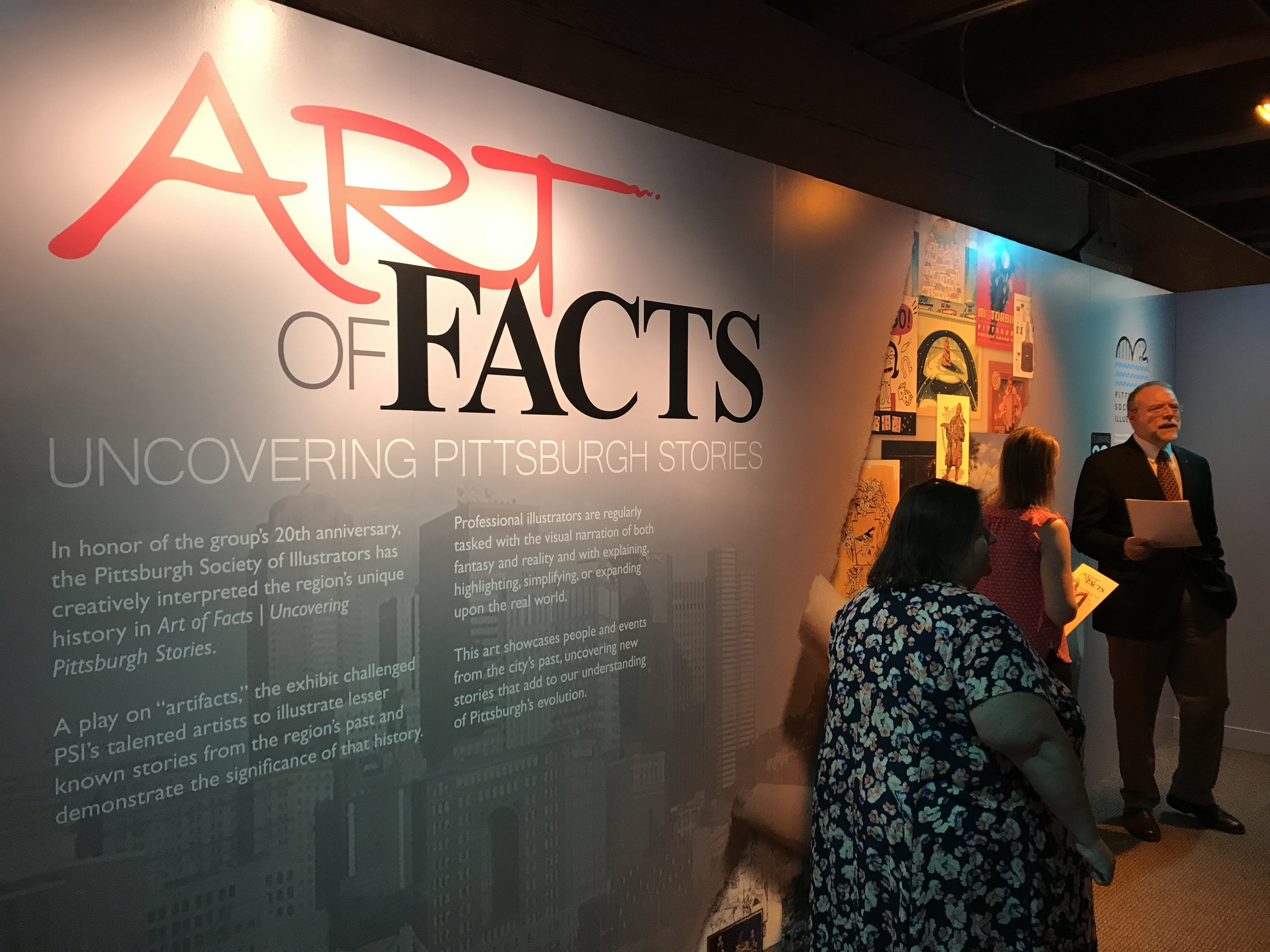 Pittsburgh Society of Illustrators 20th Anniversary Show: Art of Facts