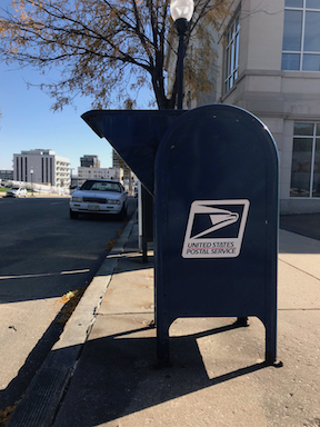 Postbox in Omaha, NE