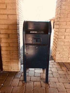 Grand Canyon Postbox