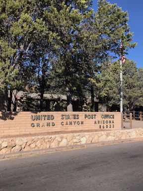 Best Post Office: Grand Canyon National Park