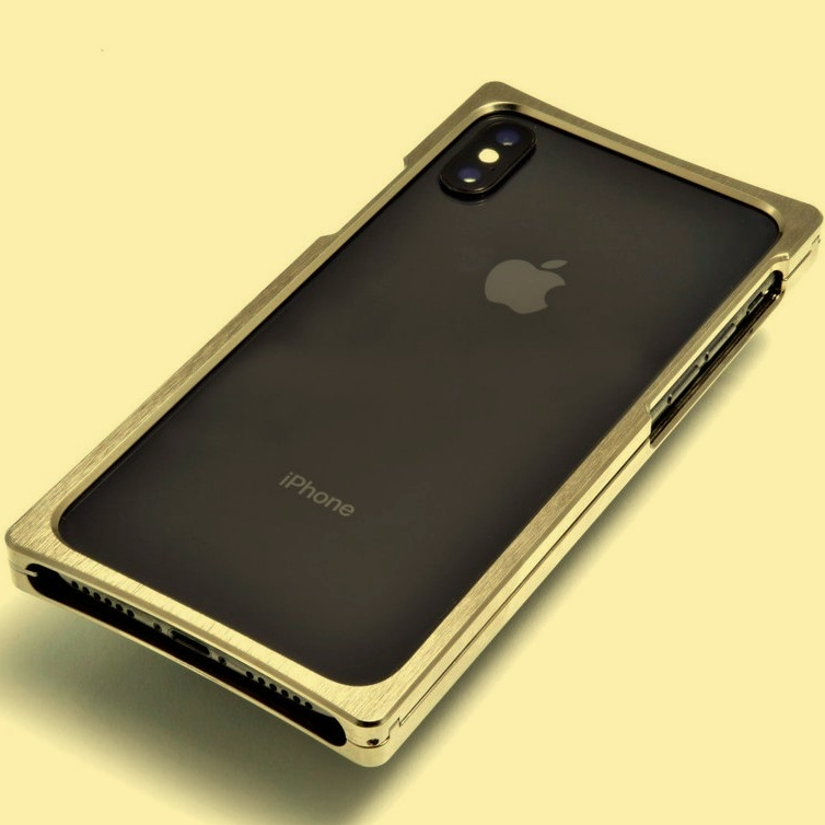 iPhone Case - Minimal metal frame for the iPhone X.
