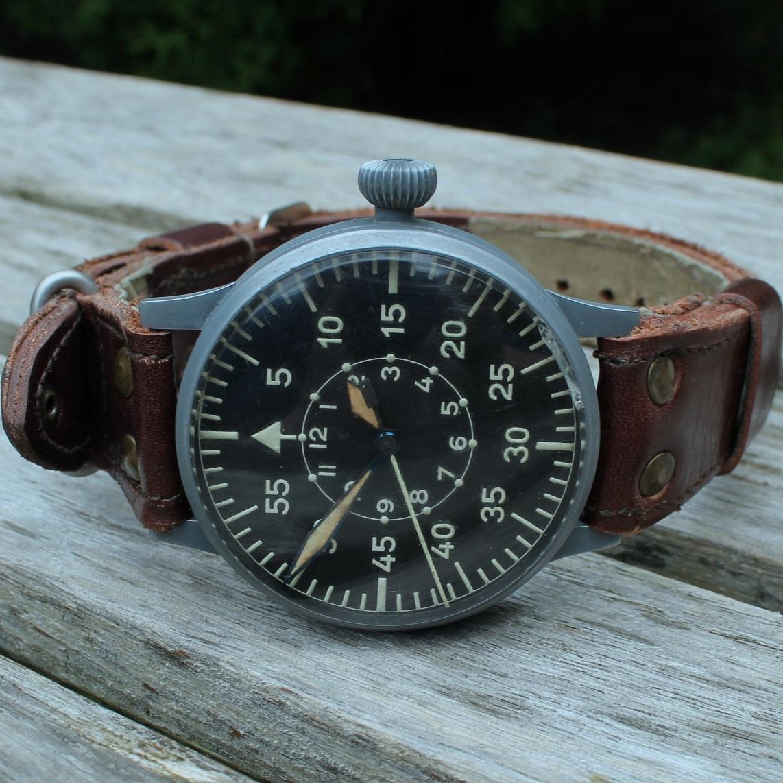 Pilot Watch - German Pilot watch, or FLIEGERUHR ORIGINALDORTMUND ERBSTÜCK.