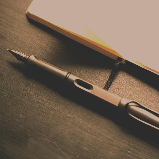 Black Pen - Lamy Safari fountain pen