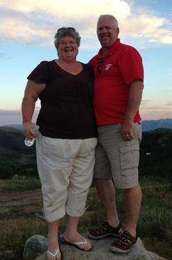 Nancy and Tim pre Crossfit