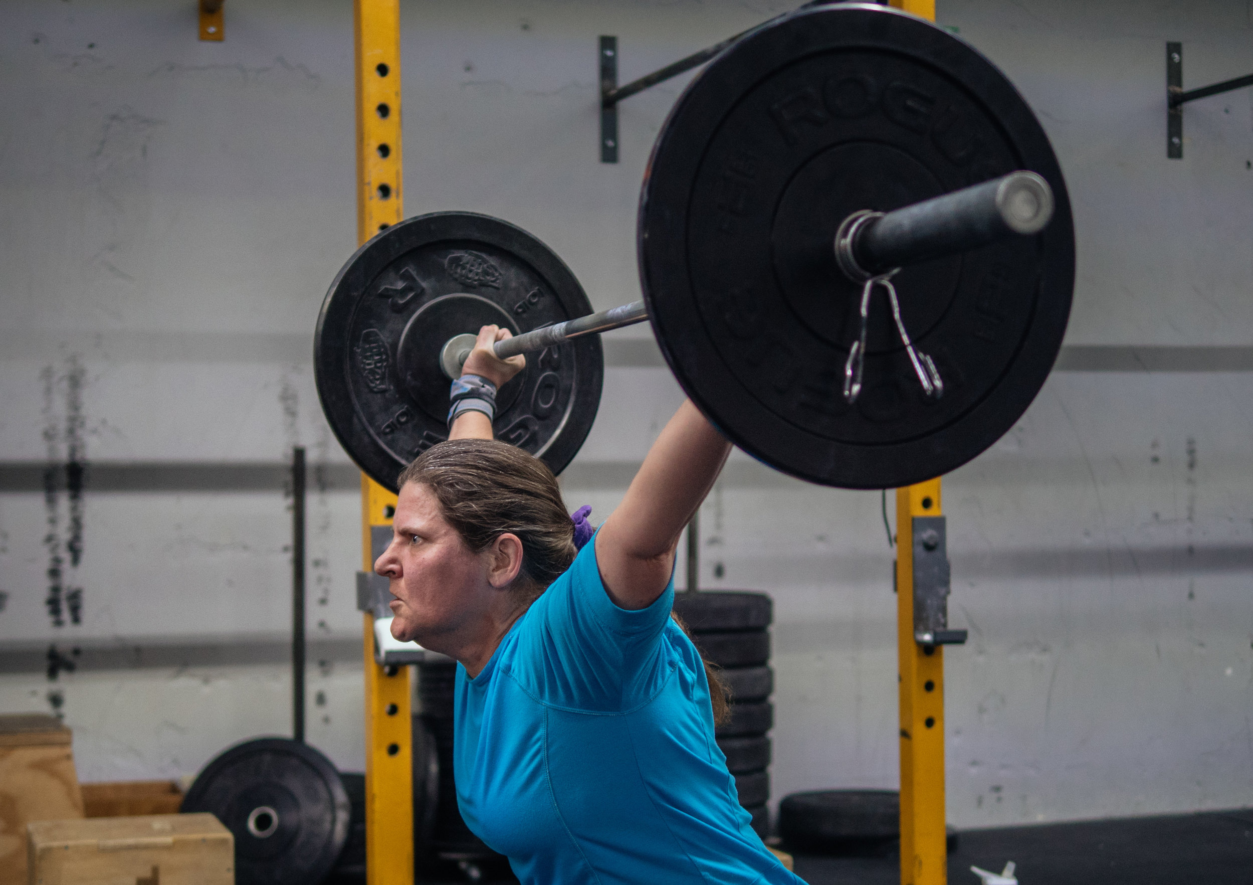 JoAnne getting after 17.3