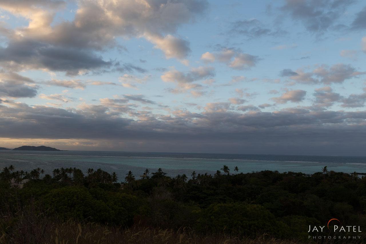 Bracketed Exposure: -1 F-Stop, Mana Island Overlook, Fiji