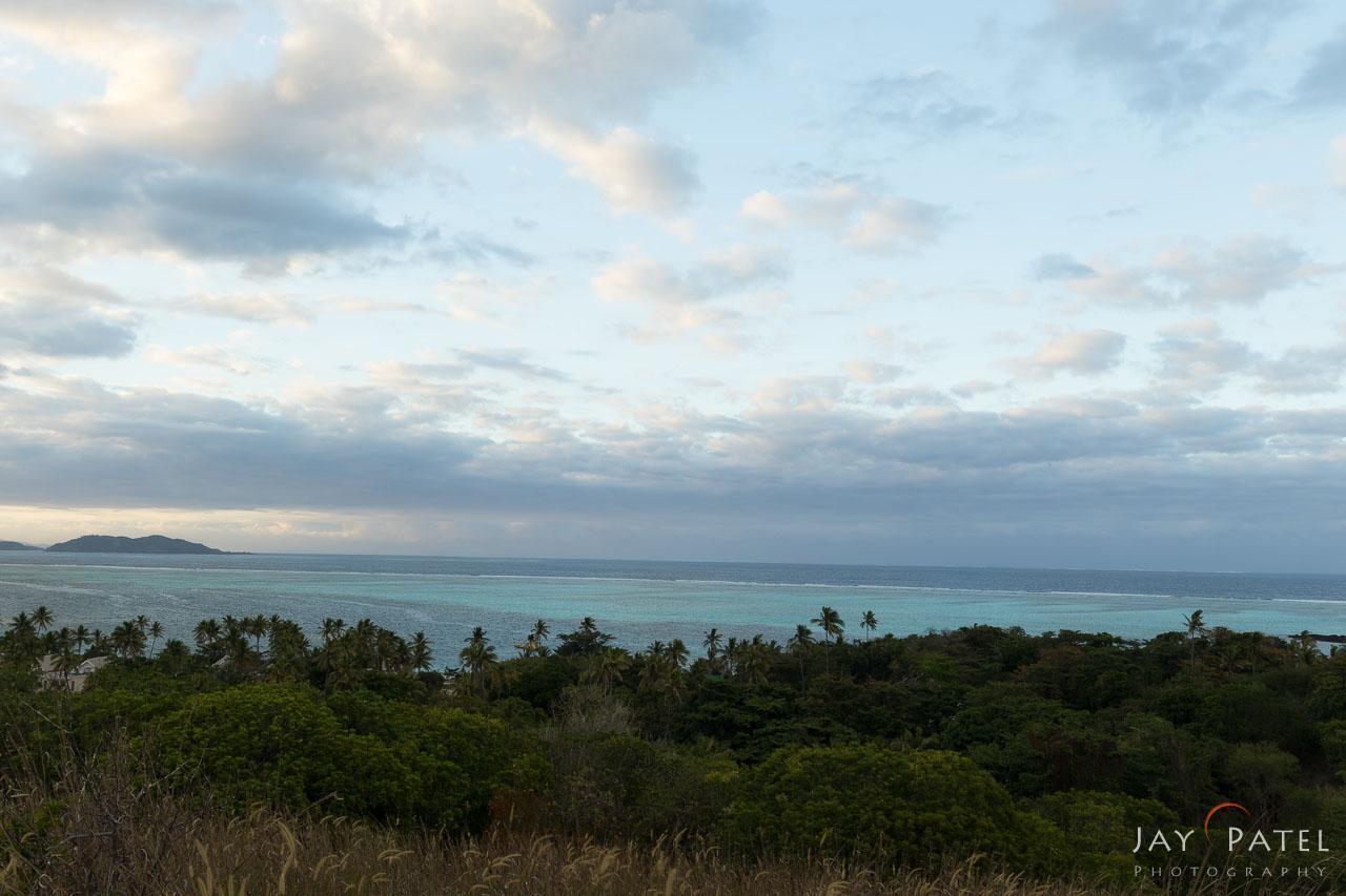 Bracketed Exposure: 0 F-Stop, Mana Island Overlook, Fiji
