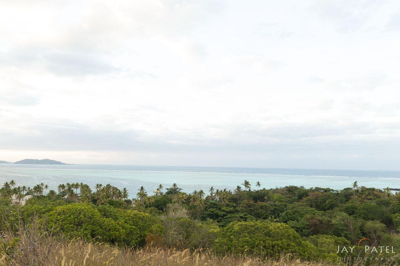 Exposure: +1 F-Stop, Mana Island Overlook, Fiji