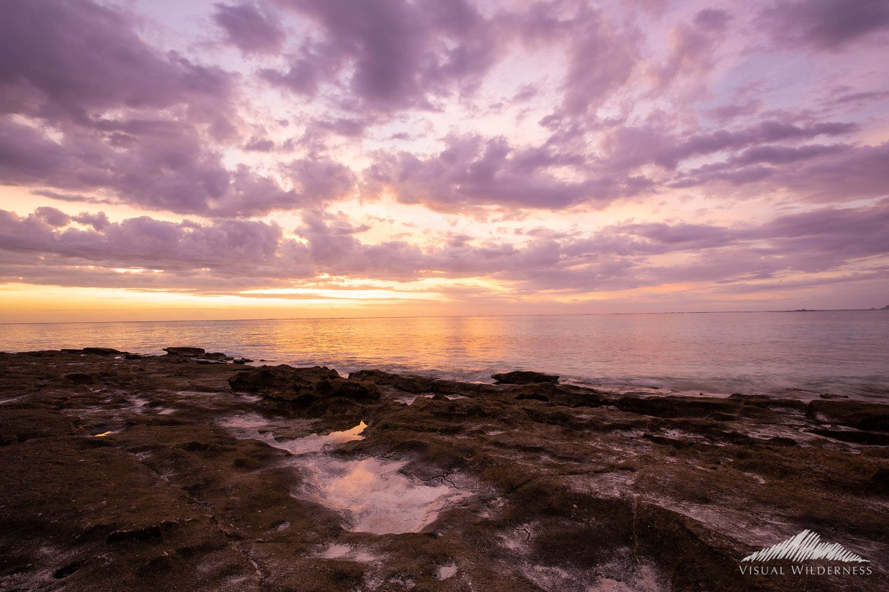 HDR for Nature Photography Case Study - Bracketing for Sunset