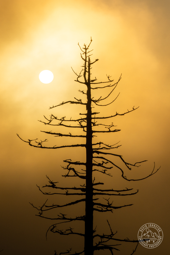 Sunrise at Clingman's Dome in Great Smoky Mountains National Park