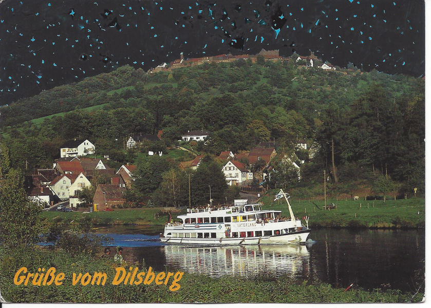 Starry night in Dilsberg