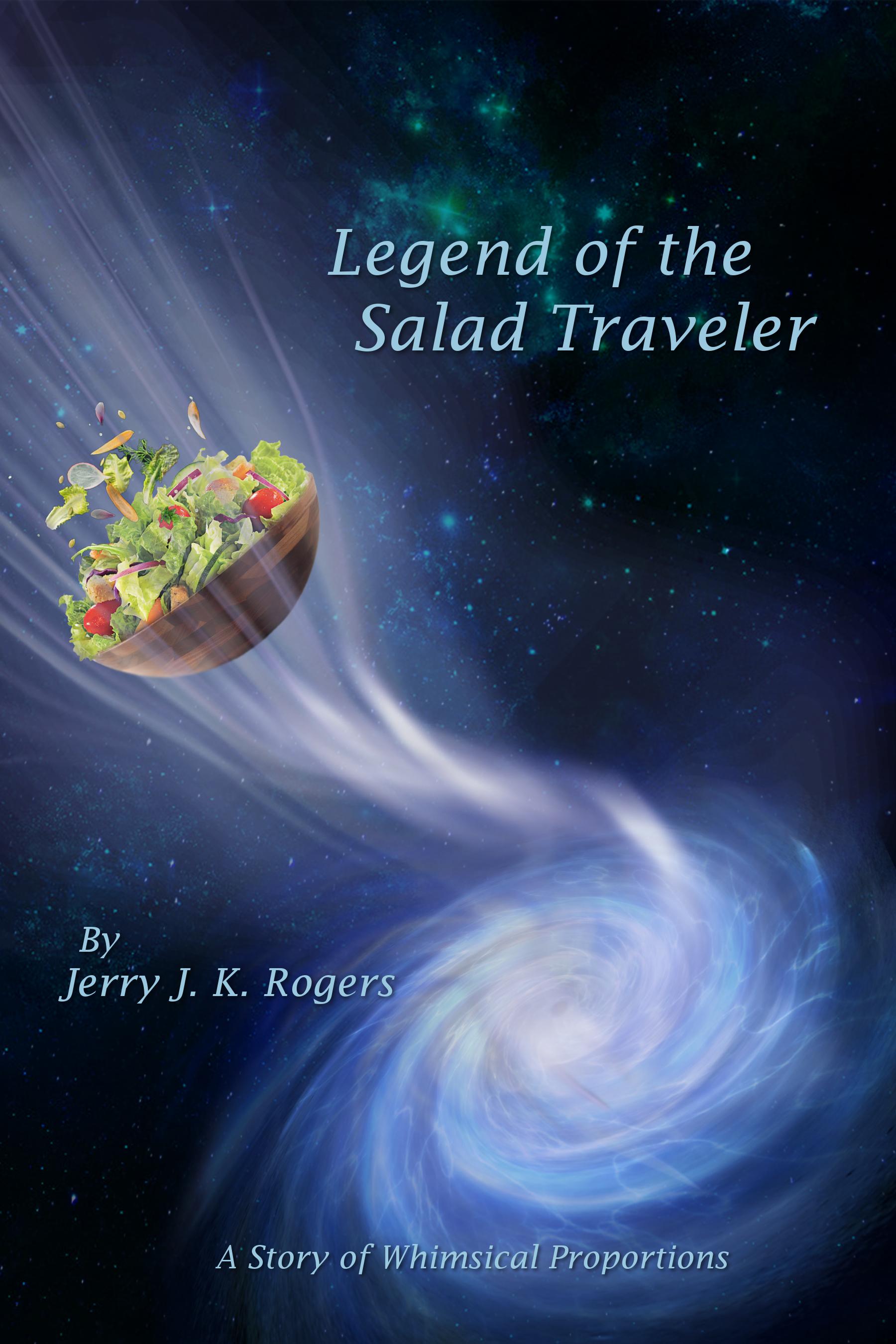 Legend of the Salad Traveler Cover Art (Design created by Christian Vazquez)