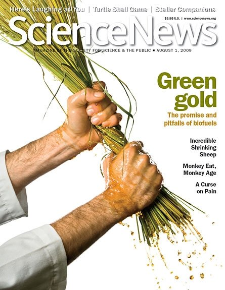 Covers and layouts for Science News