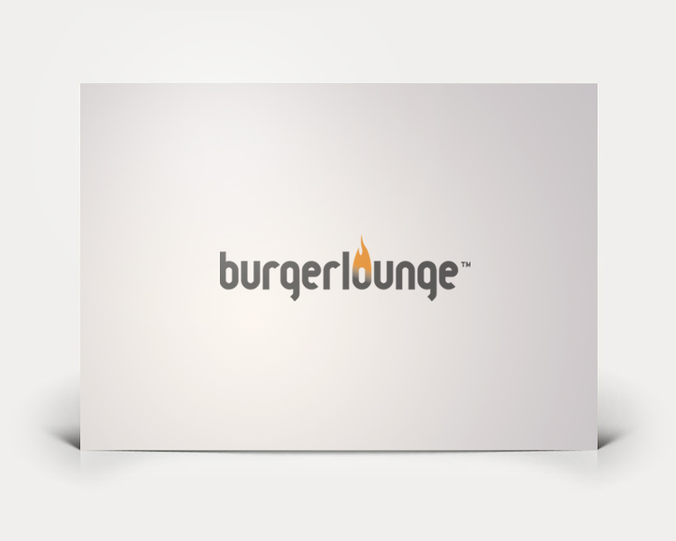 Burgerlounge logo design