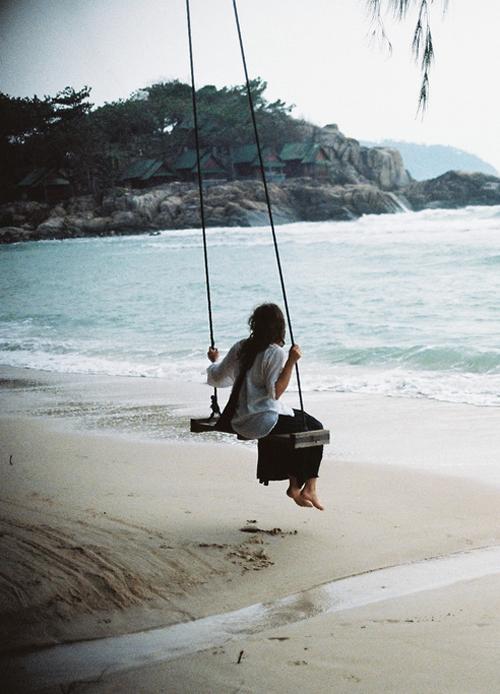 Seaside dreams Source: Via  Awelltraveledwoman